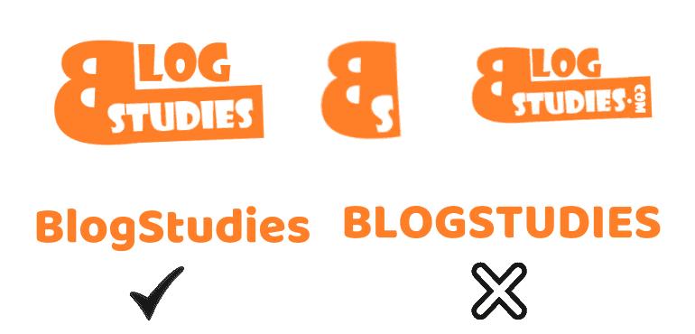 Right way to read BlogStudies logos