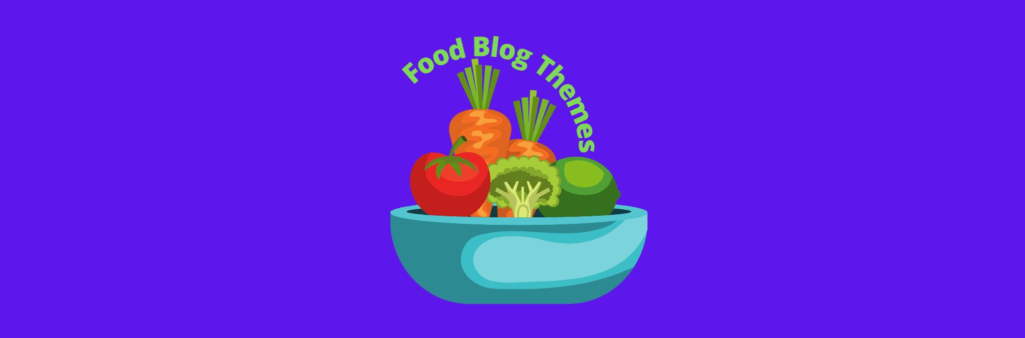 Best WordPress themes for food blog